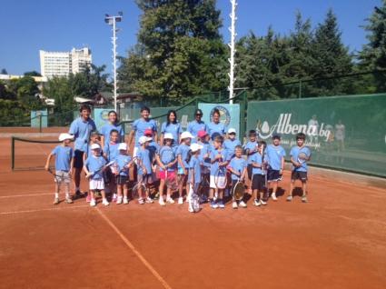 Първи международен тенис камп в Албена