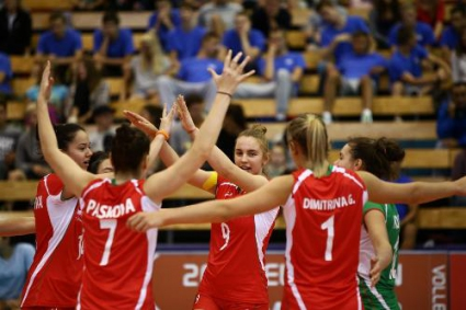 Девойките на България ще играят за 5-8-мо място на Европейското