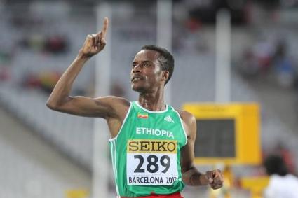 20-годишен етиопец с постижение №1 в света за сезона на 5000 м