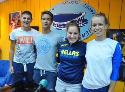 Юношите започнаха със загуба на Европейското по плажен волейбол