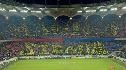 Румънските медии се хвалят: 10 000 подкрепят Стяуа в София