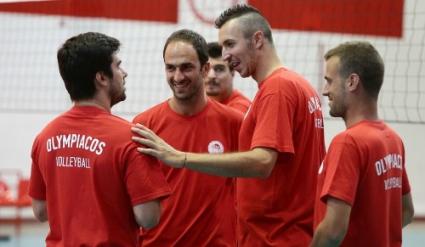 Супер Бобо започна подготовка с Олимпиакос