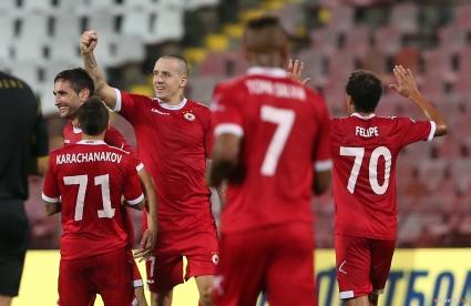 Рециталът на ЦСКА отекна и в Люксембург