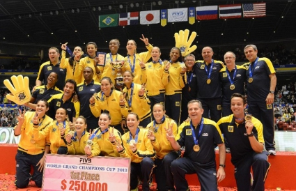 Откраднаха трофеите за световните по волейбол за мъже и жени