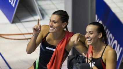 Италианки спечелиха на синхронните скокове от триметров трамплин