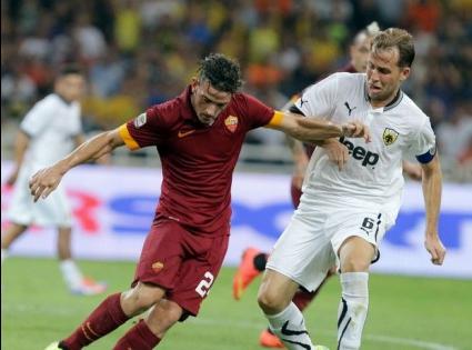 Новите звезди на Рома блестят при победа в Гърция (видео)