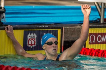 Кейти Ледецки с нова поправка на световен рекорд