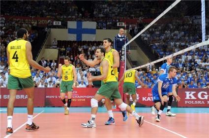 Бразилия с трудно 3:0 над Финландия