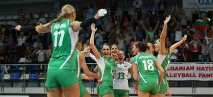 Волейболистките на България играят контрола с Азербайджан във вторник