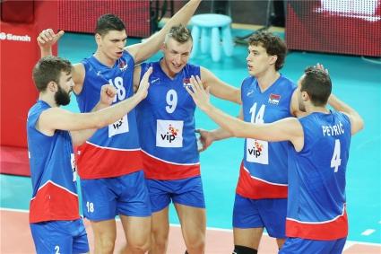 Сърбия с лесно 3:0 над Венецуела