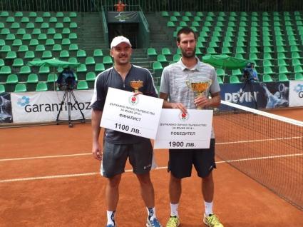 Халачев спечели титлата, Трайков се отказа в началото