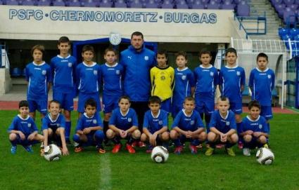 Черноморец спечели турнир за деца в Бургас