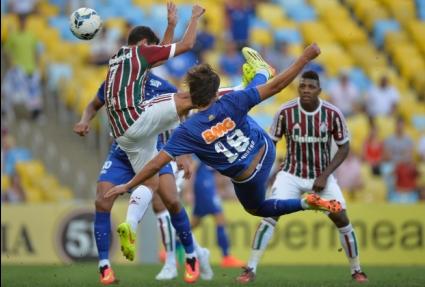 Морено с 10-ия си гол осигури равенство на Крузейро срещу Флуминензе