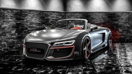 Брутално Audi R8 Spyder от CT Exclusive