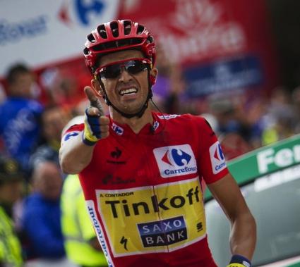 Контадор спечели 16-ия етап на Вуелтата