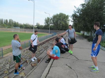 Мъжкият Дунав започна подготовка