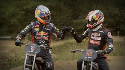 Рикардо vs. Квят: кой е по-добрият на две колела? (Видео)
