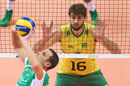България преклони глава пред Бразилия (ВИДЕО + ГАЛЕРИЯ)