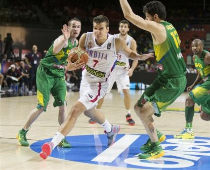 Сърбия мечтае за медал след лекция срещу Бразилия (галерия)