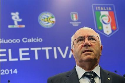 УЕФА наказа боса на италианския футбол за шест месеца