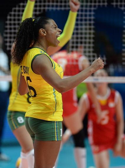 Какво разиграване? Над 1 минута Бразилия и Китай не можаха да си отбележат точка (ВИДЕО)