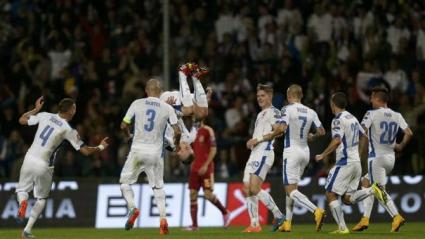 Словакия шокира Испания след драма в края (видео)