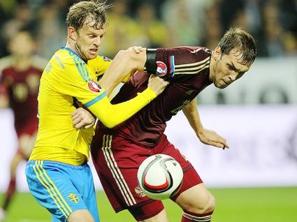 Русия си тръгна с точка от Швеция (видео)