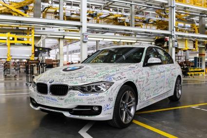 Първото BMW излезе от завода в Бразилия