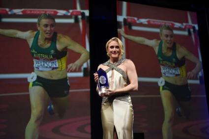 Сали Пиърсън с награда за Най-вдъхновяващ спортист