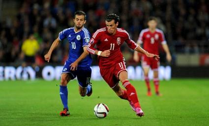 Без голове и без победител между Уелс и Босна и Херцеговина