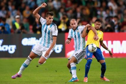 Неймар: Нормално е да бъда ритан от аржентинците