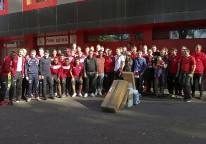 Фенове на ЦСКА помогнаха финансово на отбора, клубът им благодари