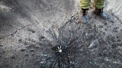 Базата на Заря (Луганск) пострада от обстрел на проруските сепаратисти