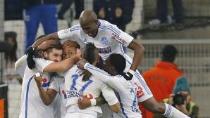 Измъчена победа върна Марсилия на върха (видео)