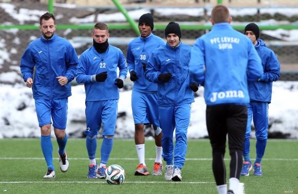 Луис Педро поднови тренировка с Левски