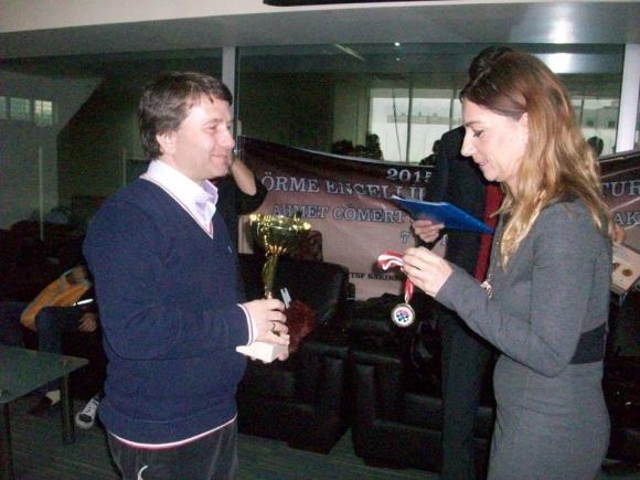 Пловдивчанин спечели турнир по шах за незрящи в Истанбул