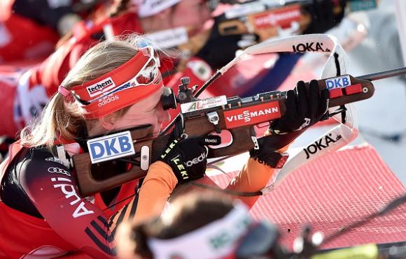 Германия стана световен шампион по биатлон в женската щафета на 4x6 км.
