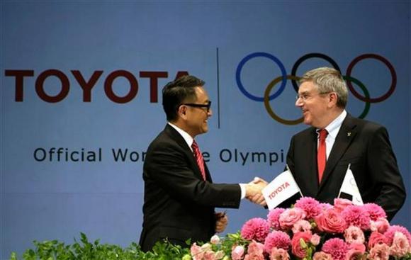МОК подписа договор с Тойота за 1 милиард