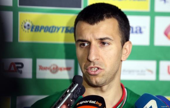 Капитанът на Лудогорец си изкарал жълт картон в името на България