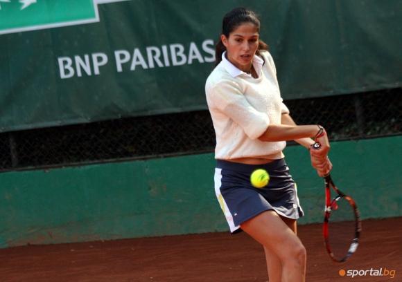 Шиникова отпадна на 1/2-финалите на двойки в Тунис
