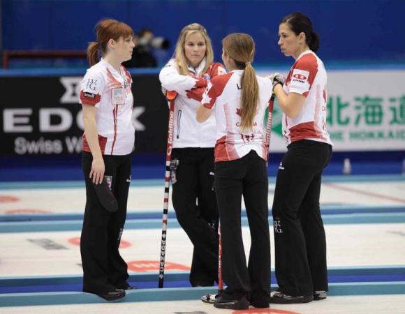 Швейцария срещу Канада на финала на световното по кърлинг