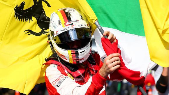 Фетел: Първата победа за Ферари е сбъдната мечта за мен