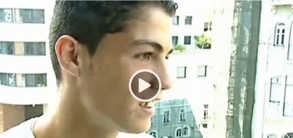 Ето как изглеждал и къде живеел Кристиано през 2001 г. (видео)