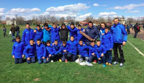 Децата на Левски спечелиха турнир в Чирпан
