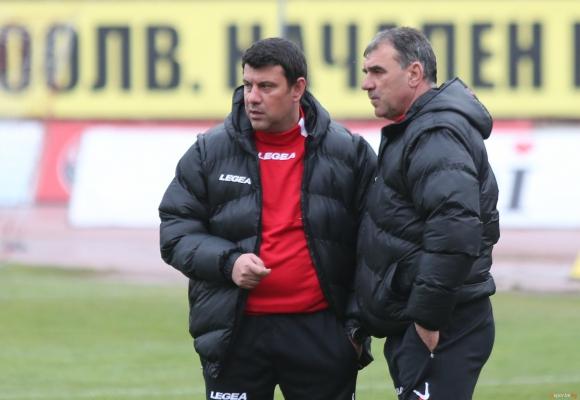 Галин Иванов: Надявам се на добър резултат срещу Лудогорец
