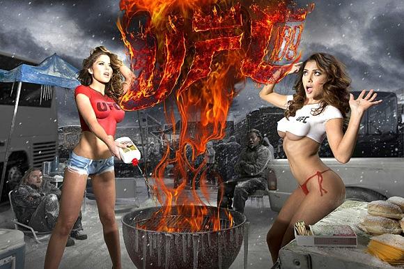 Запознайте се с ринг-момичетата на UFC в различните краища на света (СНИМКИ + ВИДЕО)