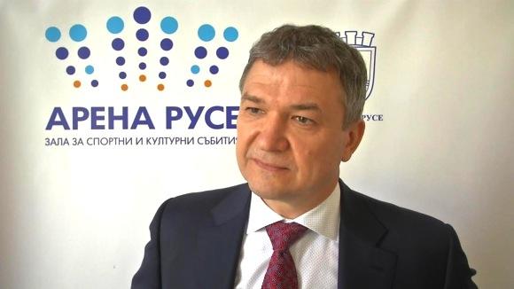 """Пламен Бобоков: """"Арена Русе"""" е новият мост към Европа  (ВИДЕО)"""