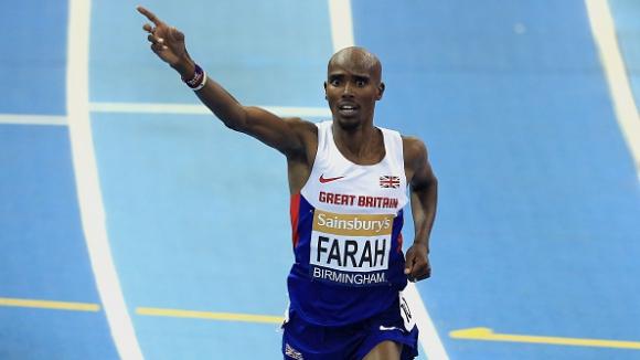 Мо Фара ще бяга 1500 м на Диамантената лига в Бирмингам