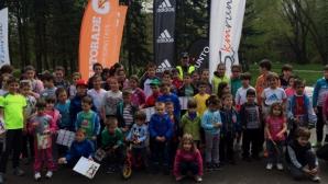 Деца премериха сили на 2 км в София