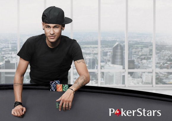 Неймар се присъедини към звездното семейство на PokerStars